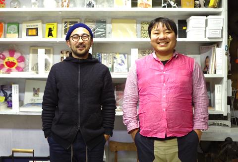 ( 写真 左 : 木村まさし、右 : 古賀鈴鳴 )